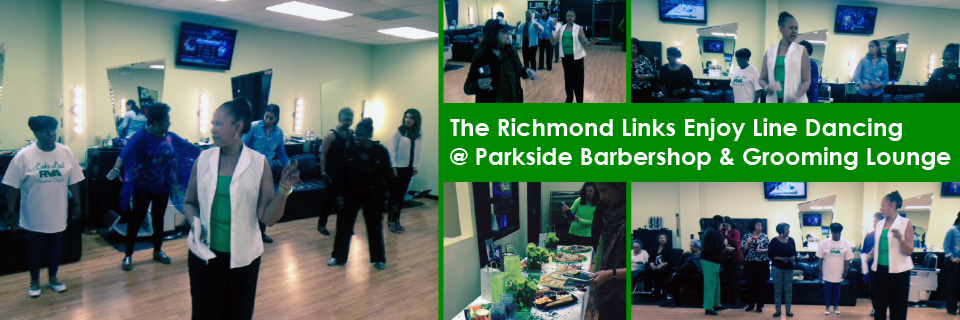 Line Dancing for Parkside Barbershop