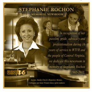 Stephanie Rochon Memorial Newsroom